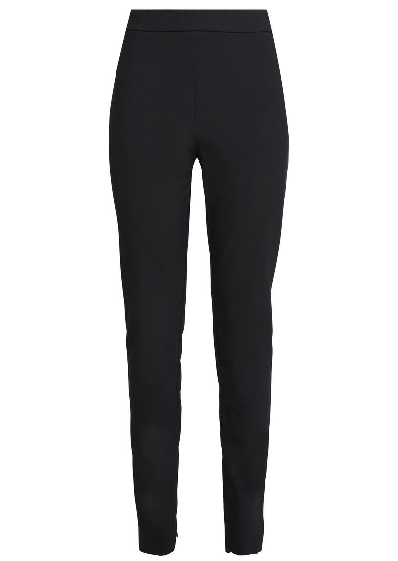 Theory Woman Stretch Cotton-blend Leggings Black