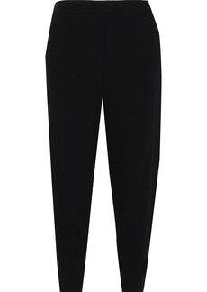 Theory Woman Genie Crepe Tapered Pants Black