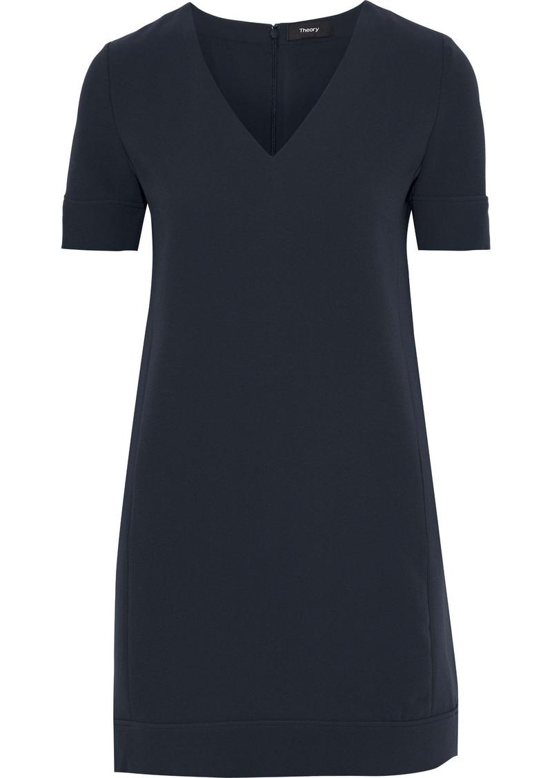Theory Woman Jasneah Cady Mini Dress Navy
