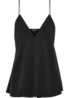 Theory Woman Kensington Satin-crepe Camisole Black