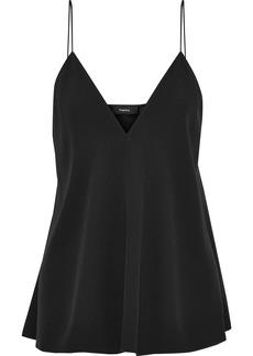 Theory Woman Kensington Satin-crepe Camisole Black