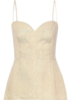 Theory Woman Linen Camisole Beige