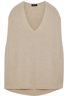 Theory Woman Oversized Cashmere Sweater Neutral