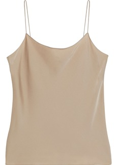 Theory Woman Teah Silk-blend Charmeuse Camisole Sand