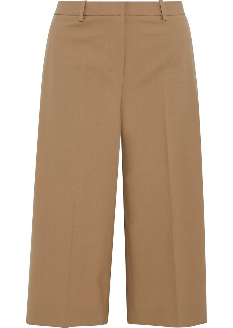Theory Woman Wool-blend Culottes Camel