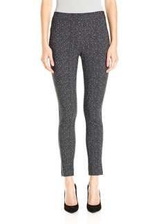 Theory Women's Adbelle K Tweed Twil Pants a Black/White M