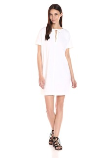 Theory Women's Alisia Crunch Wash Vneck Dress