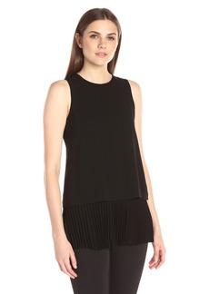 Theory Women's Anastaza Winslow Crepe Shirt