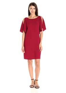 Theory Women's Andzelika_Rosina Cre Dresses up up Crimson red