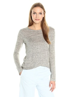 Theory Women's Basic B3 Linen Knit Top  M