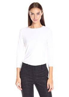 Theory Women's Basic Ribbed Viscos1 Shirt    S