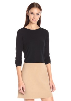 Theory Women's Basic Ribbed Viscos1 Shirt    P