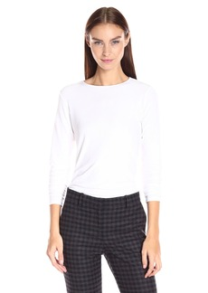 Theory Women's Basic Ribbed Viscos1 Shirt  M