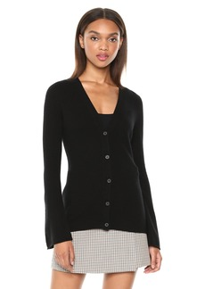 Theory Women's Bell Sleeve Cardigan  L