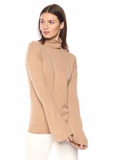 Theory Women's Bell Sleeve Mockneck Sweater  S
