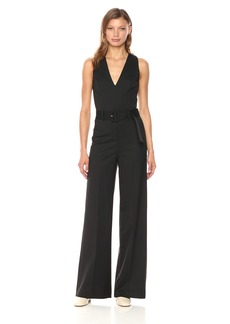 Theory Women's Belted Jumpsuit Pant