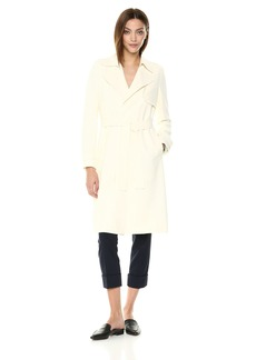 Theory Women's Belted Oaklane Trench Coat  L