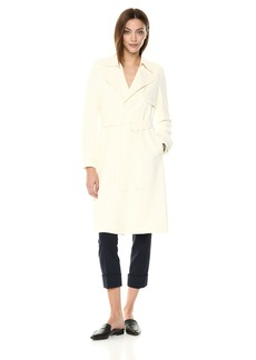 Theory Women's Belted OAKLANE Trench Coat  M