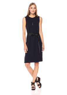 Theory Women's Caitriona_Clean Twil Dresses GE Deep Navy