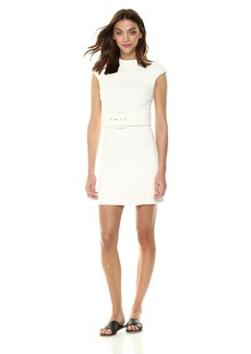Theory Women's Cap Sleeve Mod Belt Dress