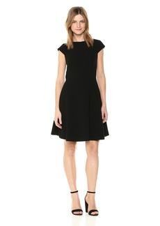 Theory Women's Cap Sleeve Shift Dress