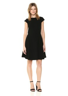 Theory Women's Cap Sleeve Shift Dress