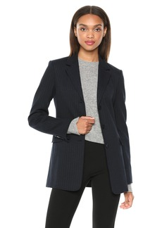Theory Women's Cardinal Jacket deep Navy