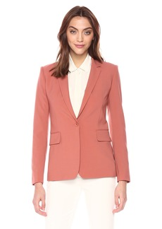 Theory Women's Classic ONE Button Essential Jacket
