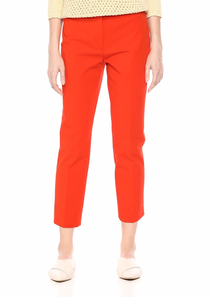 Theory Women's Classic Skinny Cropped Pant fire Opal