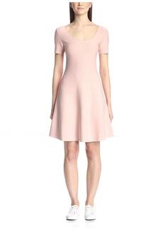 Theory Women's Coriz Scoop Neck Dress  S