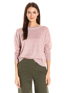 Theory Women's Criselle M. Fine Linen Sweater  L