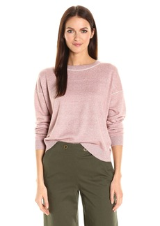Theory Women's Criselle M. Fine Linen Sweater  S