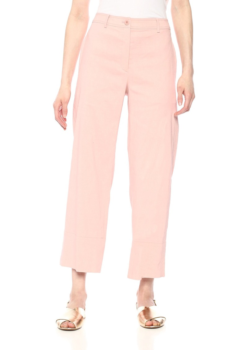 Theory Women's Cropped Wide Leg Fluid Pant