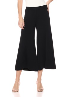 Theory Women's Cropped Wide Leg Henriet Pant  L