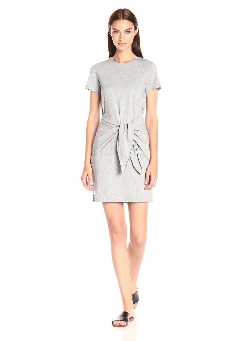Theory Women's Dakui Rubric Dress Melange Grey M