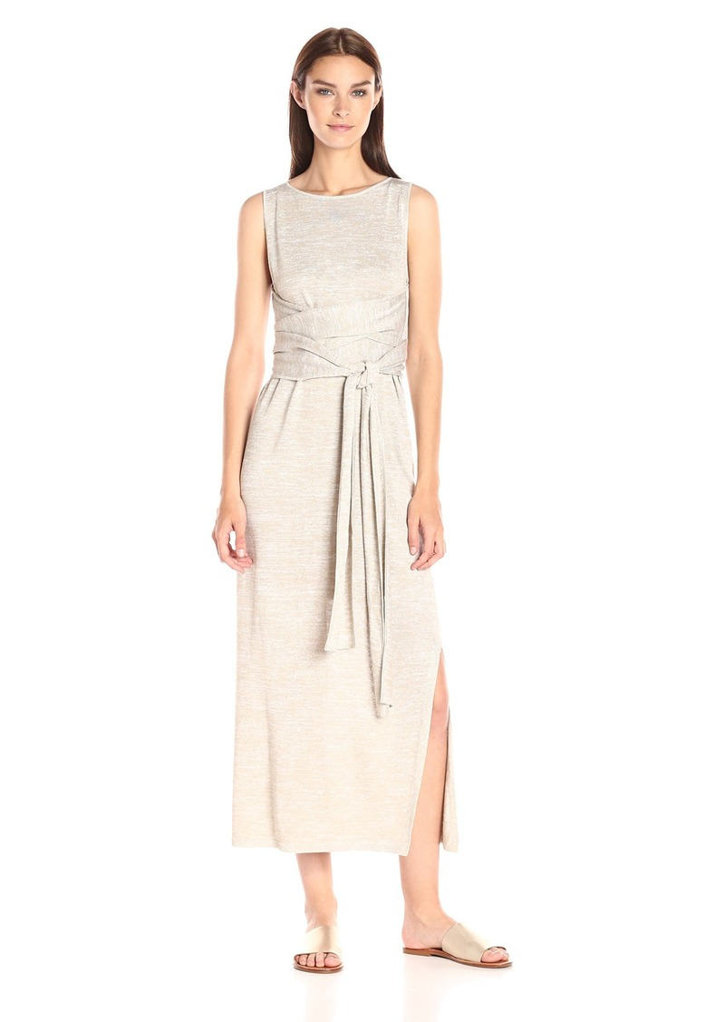 Theory Women S Dantine Sag Harbor Dress White Natural Linen M