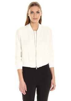 Theory Women's Daryette B Elevate Crepe Jacket  L