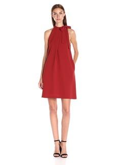 Theory Women's Espere Admiral Crepe Dress SWG Red Oak