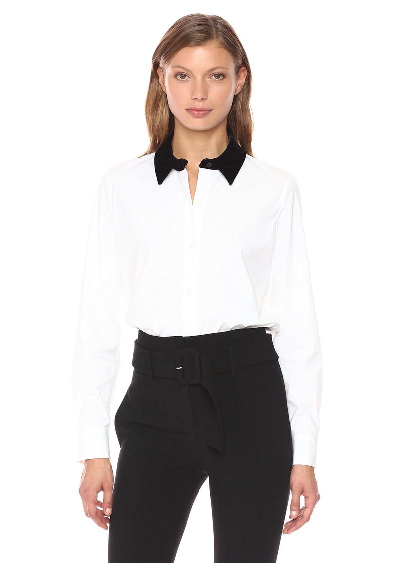 Theory Women's Fancy Shirt Top  M