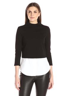 Theory Women's Gracila fixture Pont Shirt