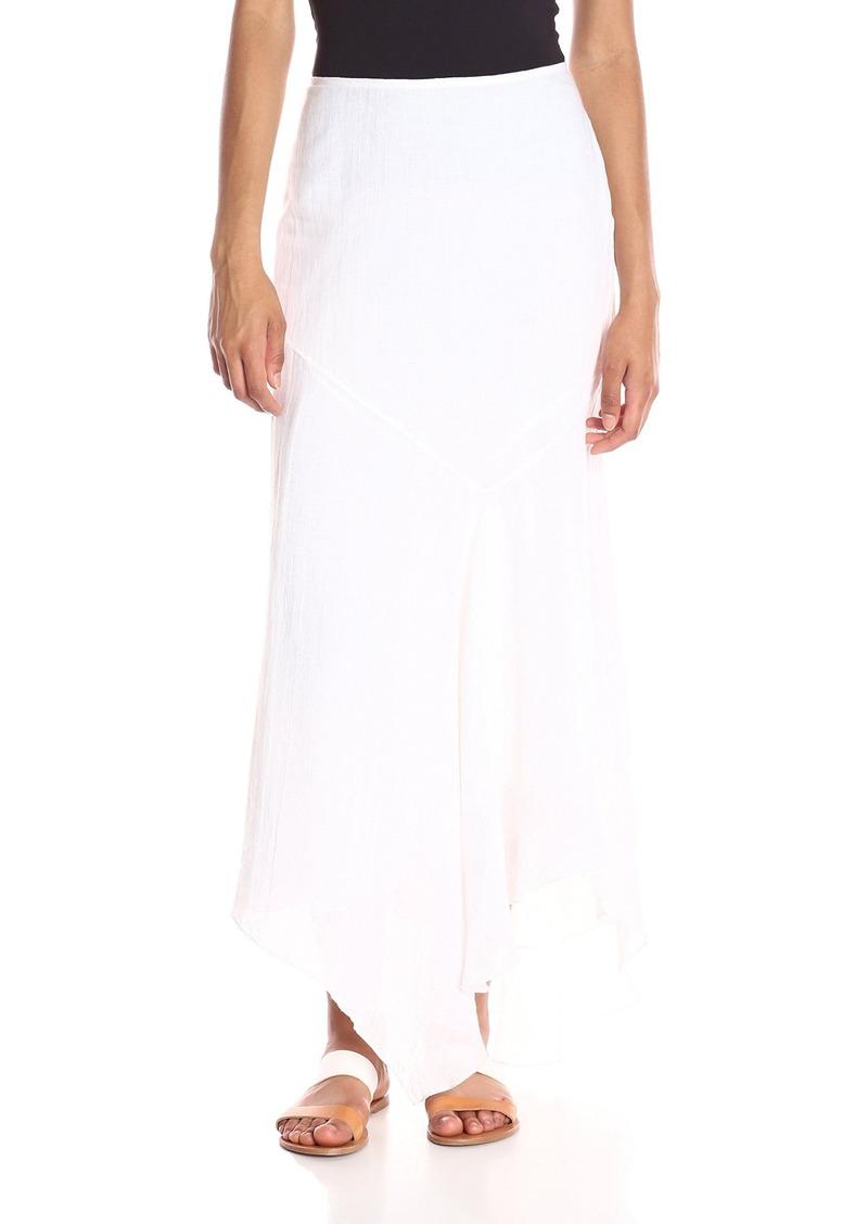 Theory Women's Halvinnie Soft Linen Skirt