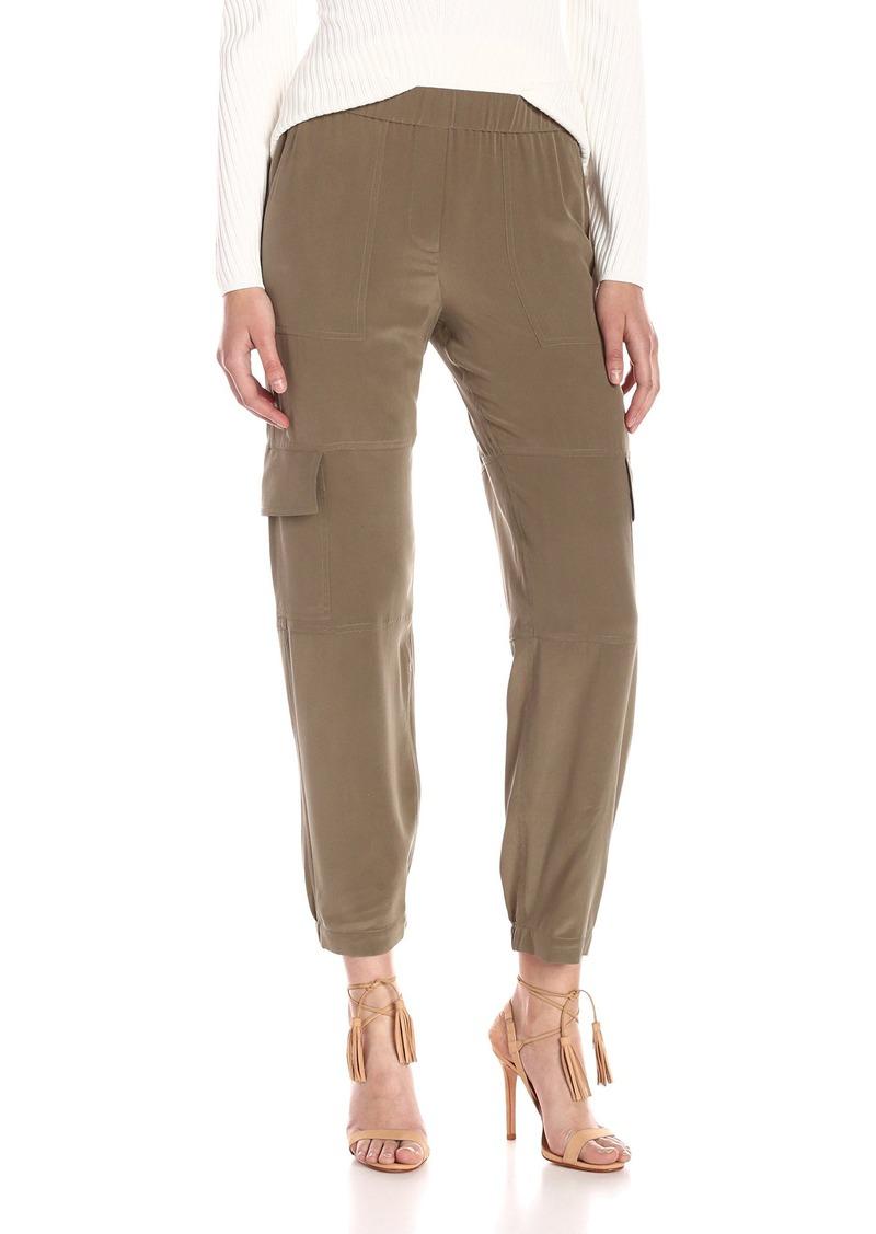 Theory Women's Hamtana Summer Silk Pant  L