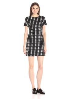 Theory Women's Jatinn Geo Plaid Dress