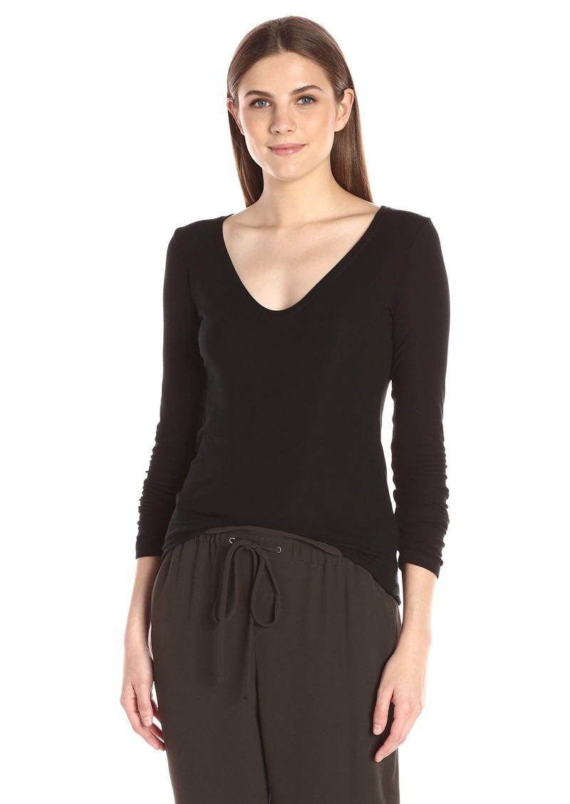 Theory Women's Jehane Ribbed Shirt