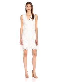 Theory Women's Jemion E Embroidered Dress