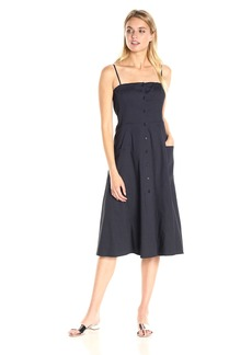 Theory Women's Kayleigh Crunch Wash Dress Concord