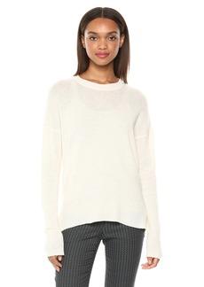 Theory Women's Long Sleeve Karenia Crewneck Sweater  L