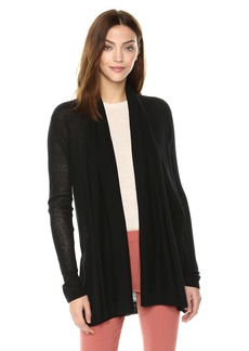 Theory Women's Long Sleeve Open Front Cardigan  L