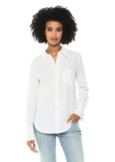 Theory Women's Long Sleeve Slim Collar Buttondown  P