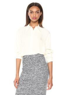 Theory Women's Long Sleeve Weekender Shirt  M